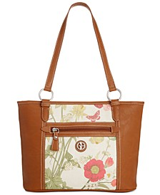 Botanical Linen Tote, Created for Macy's