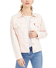 Ex-Boyfriend Trucker Cotton Denim Jacket