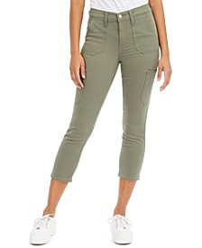 724 Utility Cropped Jeans
