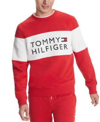 tommy hilfiger white shirt with logo
