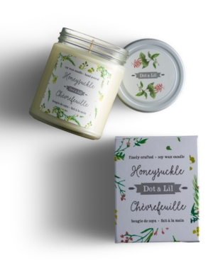 Honeysuckle Soy Candle