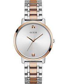 Women's Diamond-Accent Two-Tone Stainless Steel Bracelet Watch 40mm