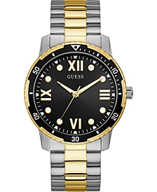 Men's Two-Tone Stainless Steel Bracelet Watch 42mm
