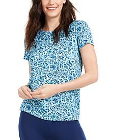 Cadence Floral-Print Sleep T-Shirt