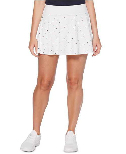PGA TOUR Grand Slam Tennis Tennis-Print Skort