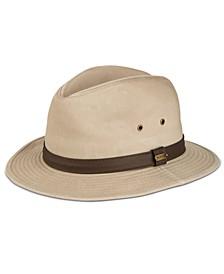 Men's Washed Twill Safari Hat