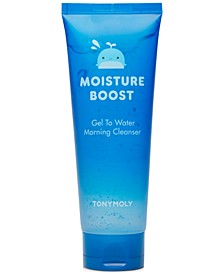 Moisture Boost Gel To Water Morning Cleanser