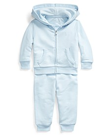 Baby Boys French Terry Hoodie & Pants Set