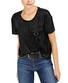 Utility-Pocket Top, Created for Macy's