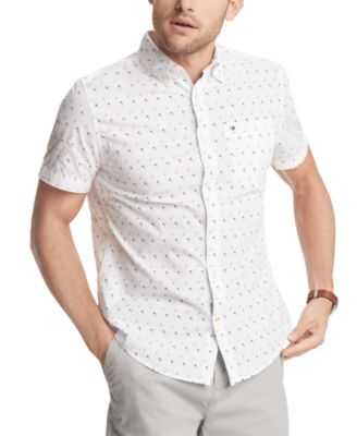 Men's Armstrong Geo-Print Shirt, Created for Macy's