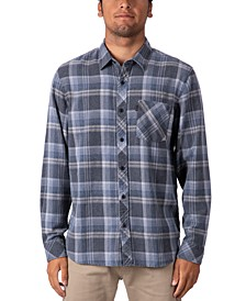 Men's Sunnyside Burnt-Out Plaid Flannel Shirt