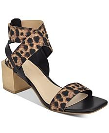 Women's Ellete Bondle Block-Heel Sandals