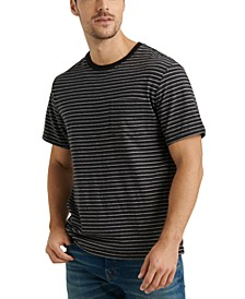 Men's Sunset Stripe Pocket T-Shirt