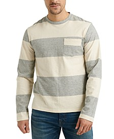 Men's Bold Stripe Pocket T-Shirt