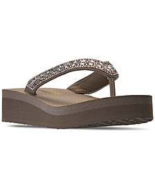 Women's Cali Vinyasa Glory Day Flip-Flop Thong Athletic Sandals from Finish Line
