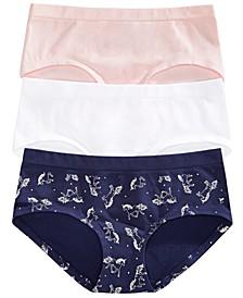 Big Girls 3-Pack Seamless Underwear