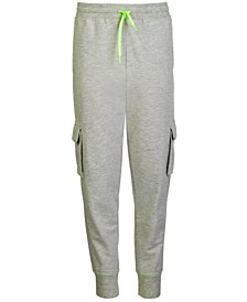 Big Boys Cargo Jogger Sweatpants, Created For Macy's
