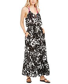 Kate Spade New York Printed Cover-Up Maxi Dress