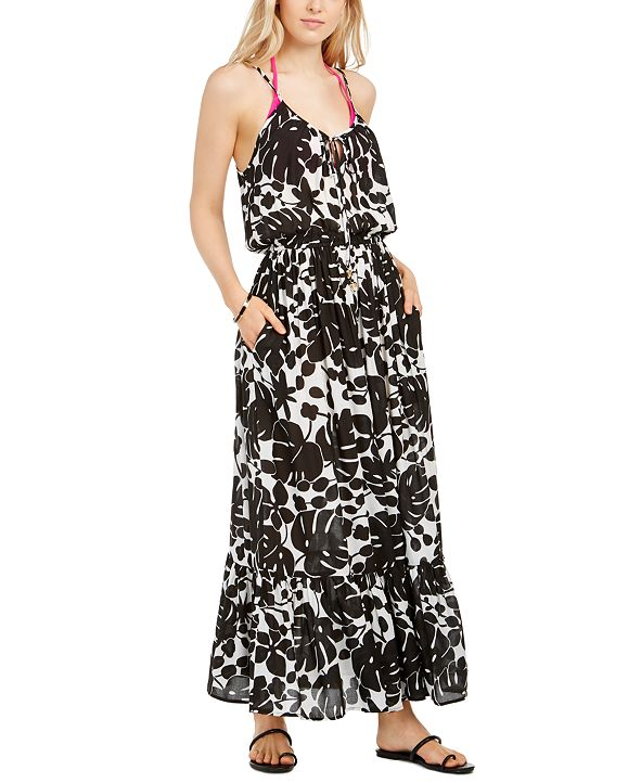 kate spade new york Printed Cover-Up Maxi Dress