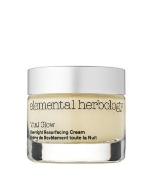 Vital Glow Overnight Resurfacing Cream for Face