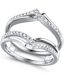 Diamond (1/4 ct. t.w.) Ring Enhancer in 14K White Gold