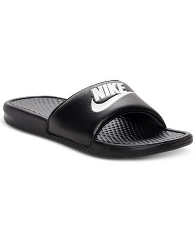 Nike Men S Benassi Just Do It Slide Sandals From Finish