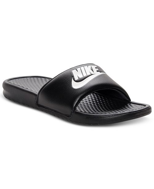 f2d7491678a695 ... Nike Men s Benassi Just Do It Slide Sandals from Finish Line ...