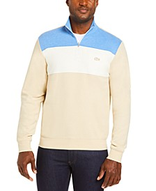Men's Colorblocked Quarter-Zip Sweater, Created for Macy's
