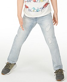 Little Boys Shore Destroyed Jeans, Created for Macy's