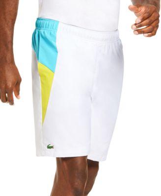 Lacoste Men/'s Diamante-Print Sport Drawstring Shorts