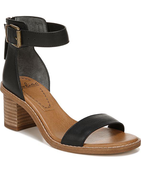 Zodiac Ilsa Block-Heel City Sandals