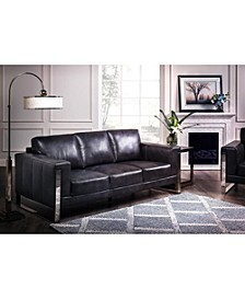 Nivry Leather Sofa