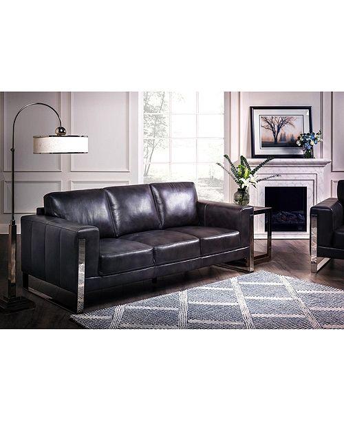 Nice Link Nivry Leather Sofa Reviews