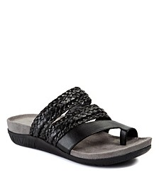 Jonelle Slip-On Woven Sandals