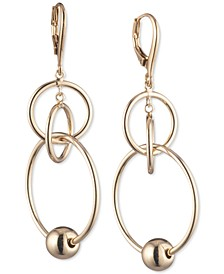 Ball & Ring Orbital Drop Earrings