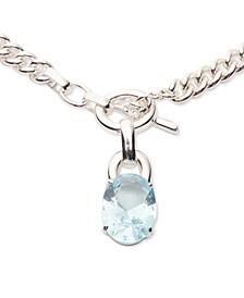 "Stone 16"" Pendant Necklace"