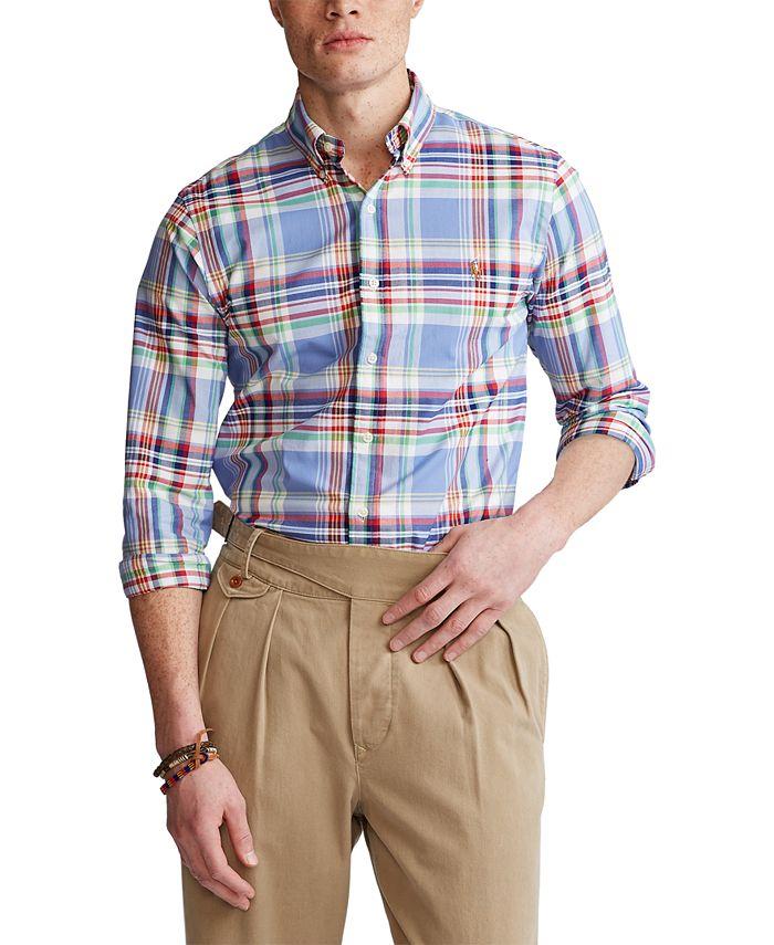 Polo Ralph Lauren - Men's Slim-Fit Oxford Shirt