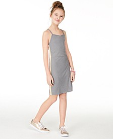 Big Girls Taped-Trim Bodycon Dress, Created for Macy's