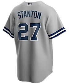 Men's Giancarlo Stanton New York Yankees Official Player Replica Jersey