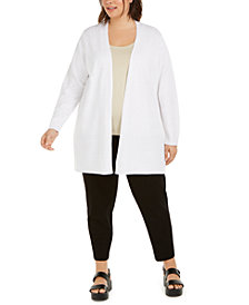 Eileen Fisher Plus-Size Cardigan