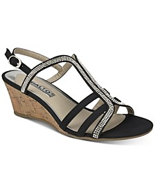 Cranny Dress Wedge Sandals