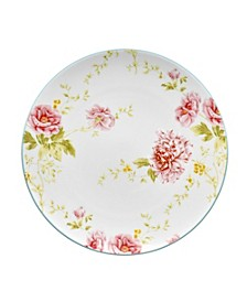 Peony Pageant Coupe Accent Plate