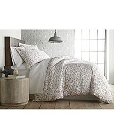 Southshore Fine Linens Forevermore Luxury Cotton Sateen Duvet Cover and Sham Set, Queen