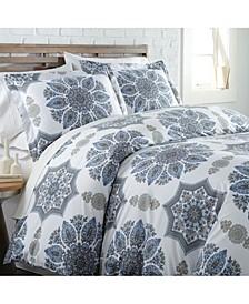 Infinity Reversible Comforter and Sham Set