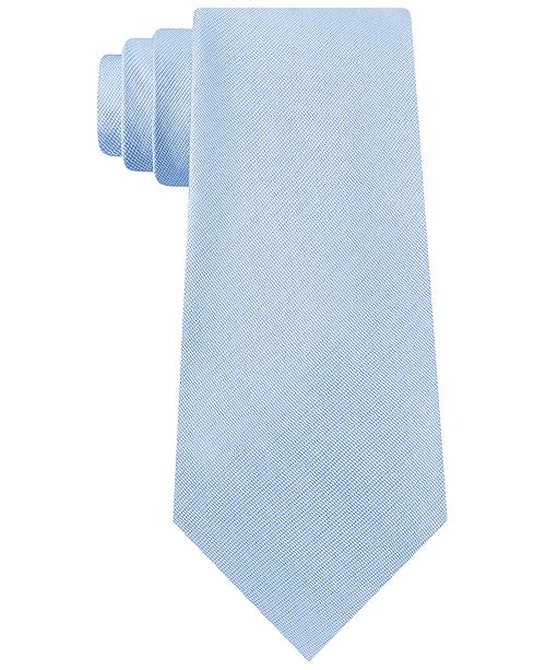 Calvin Klein Men's Two-by-One Solid Tie