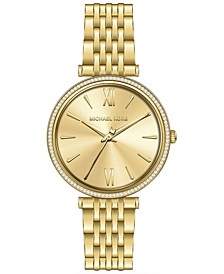 Gold-Tone Stainless Steel Bracelet Watch 37mm
