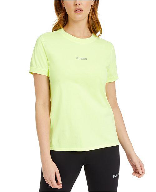 GUESS Reflective Logo T-Shirt