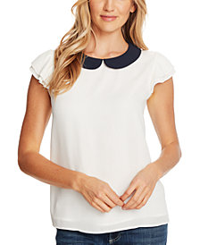 CeCe Collared Top