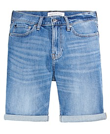 Calvin Klein Men's Straight Fit Istanbul Blue Jean Shorts