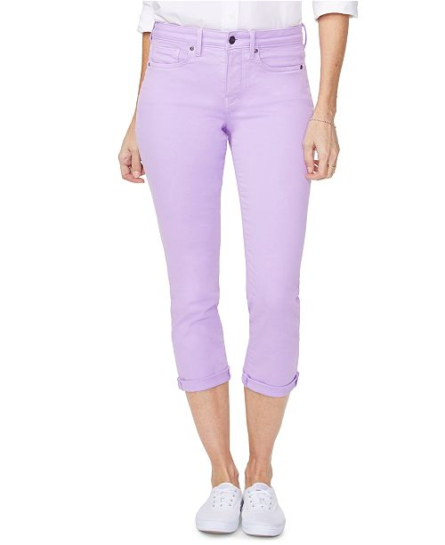 NYDJ Chloe Tummy-Control Capri Jeans